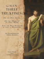 Galen, Three Treatises