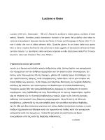 Luciano e Osea - Chiesa di Cristo Gesù