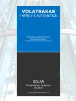 Αυτοματισμοί Ηλιακών Συστημάτων_ver.Solar Accessories and