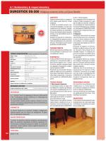 DUROSTICK DS-200 Αδιάβροχη ελαστική κόλλα για ξύλινα δάπεδα