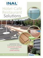 Κατάλογος : Hotel-Cafe Restaurant Solutions