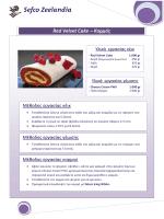 Red Velvet Cake – Κορμός