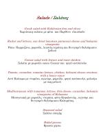 agglika menu kai welcome