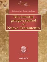 Diccionario griego-español Nuevo Testamento