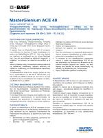 Κατεβάστε BASF MasterGlenium ACE 40