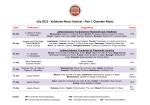 Προγραμμα Εκδηλωσεων 2013