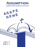 July 2011 - Assumption Greek Orthodox Church