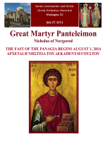 Great Martyr Panteleimon - Sts Constantine & Helen Greek Orthodox