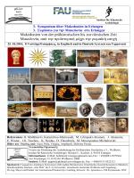 Makedonien von der prähistorischen bis zur römischen