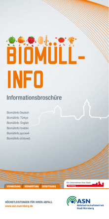 Biomüllinfo in 6 Sprachen