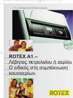 ROTEX A1 - Κλιματιστικά Ideal Klima