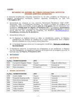 μεταθέσεις και διορισμούς - Επιτροπή Εκπαιδευτικής Υπηρεσίας