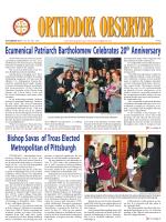 metropolis news - Greek Orthodox Archdiocese of America