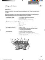 Prüfungsvorbereitung: Lektion 6