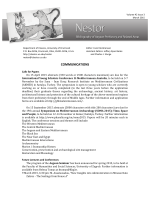 Nestor Nestor - Department of Classics