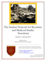 The Student Network for and Medieval Stud The Student Network for