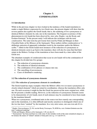 Chapter 3. CONDENSATION