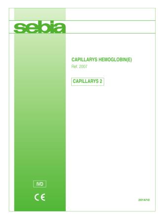 CAPILLARYS HEMOGLOBIN(E) CAPILLARYS 2