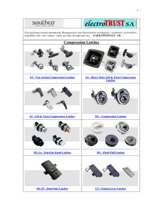 Compression Latches