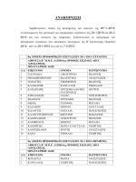 ΑΝΑΚΟΙΝΩΣΗ - efeteioathinon.gr
