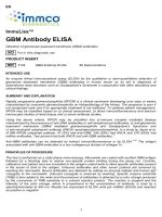 GBM Antibody ELISA - IMMCO Diagnostics