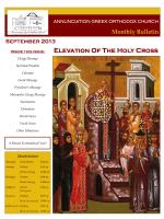 September 2013 - Annunciation Greek Orthodox Church