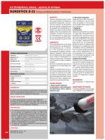 DUROSTICK D-33 Ενέσιμη εποξειδική ρητίνη 2 συστατικών