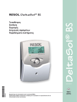 RESOL DeltaSol® BS *48000460*