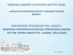ΘΟΣΣ7_LEADER-Τοπική Ανάπτυξη