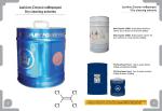 Διαλύτες Στεγνού καθαρισμού Dry cleaning solvents