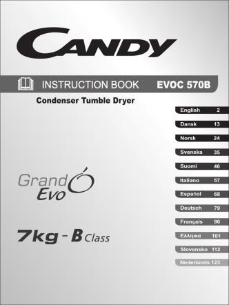 40007072 INST BOOK EVOC 570B-S 12 L