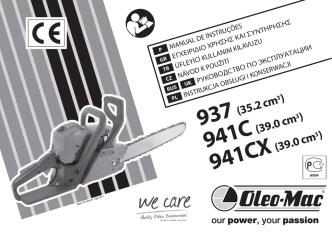 937 941C 941CX - Oleo-Mac