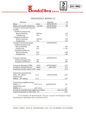 BONDEX 135 - Metaxiotis