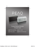 Portable Bluetooth Speaker PPA80BT-B/W
