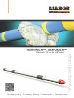DURVINIL S - DURVINIL E sleeved grouting pipes