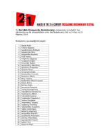 16ο Φ.Ν.Θ. - Επιλογή εθελοντικού προσωπικού