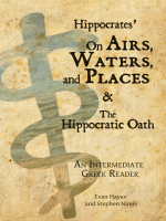 Hippocrates` On Airs, Waters, and Places