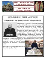 15th Sunday of Luke - Sts Constantine & Helen Greek Orthodox