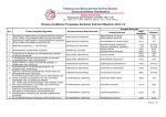 Πίνακας Αναθέσεων Πτυχιακών Εργασιών Εαρινού Εξαμήνου 2011-12