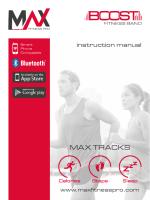 MAX TRACKS - MAX Fitness Pro