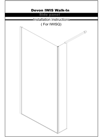 ( For IWISQ) Installation instructions Side panel Devon