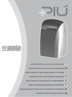 Olimpia Splendid Piu cube 13 User Guide Manual AIR