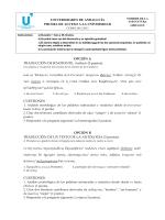 Recopilación de pruebas de Andalucía
