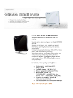 GIADA MINI PC I30 D525BΙ FREEDOS Μοναδικό design στην
