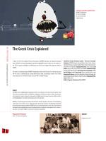 The Greek Crisis Explained