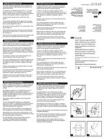 ENGLISH Instructions For Use FRANÇAIS Mode d`emploi