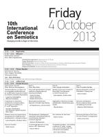 Τελικό πρόγραμμα συνεδρίου - 10th International Conference on
