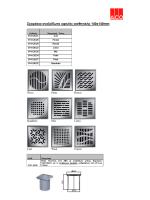 Σχαράκια ανοξείδωτα υψηλής αισθητικής 140x140mm