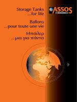 Μπόιλερ …μια για πάντα Storage Tanks …for life Ballons …pour