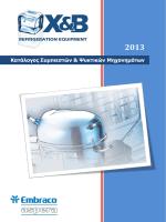 PDF Κατάλογος Συμπιεστών και Ψυκτικών Μηχανημάτων Embraco